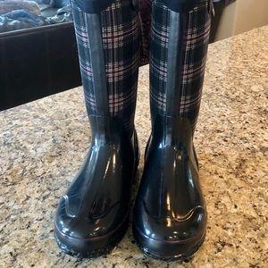Bogs Plaid Woman's Rain Boots